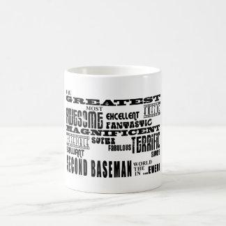 Baseball Second Basemen : Greatest Second Baseman Coffee Mugs
