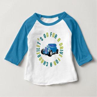Baseball shirt for Blue classic car