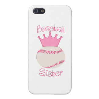 Baseball Sister Cover For iPhone 5