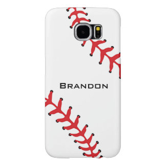 Baseball Softball Design Galaxy S6 Case