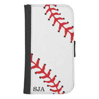 Baseball Softball Design Phone Wallet