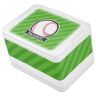 Baseball, Softball; Green Stripes