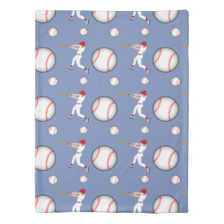 Baseball Sport Twin Size Duvet Cover
