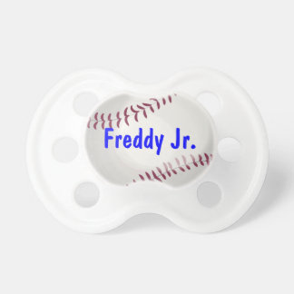 Baseball Sports Lover Personalized Baby Binkie Baby Pacifier