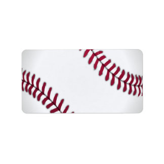 Baseball Sports Team Game Coach Ball Field Label