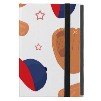 Baseball Star Pattern Case For iPad Mini