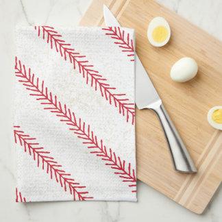 Baseball Stitch Kitchen Towel