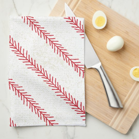 Baseball Stitch Kitchen Towel