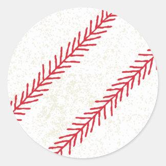 Baseball Stitch Stickers