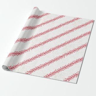 Baseball Stitch Wrapping Paper
