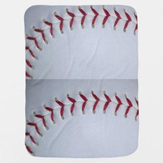 Baseball Stitches Baby Blankets