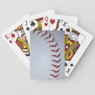 Baseball Stitches Playing Cards