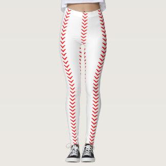 Baseball Stitches (Seams) Leggings
