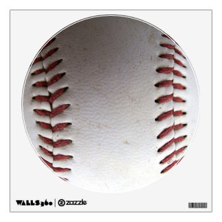Baseball Stitches Wall Sticker