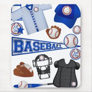 Baseball Stuff Mouse Pad