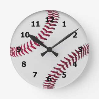 Baseball Style Clock with Numbers