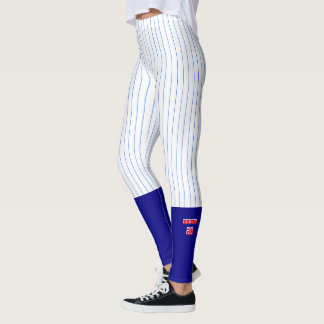 Baseball Style Leggings