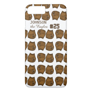 Baseball team custom mitt iPhone 7 plus case