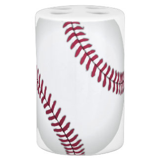 Baseball Team Sports Bath Accessory Set