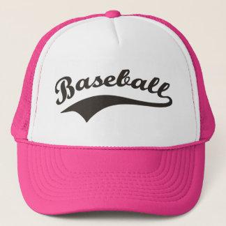 Baseball Text Trucker Hat
