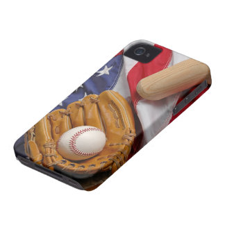 Baseball the USA Case-Mate iPhone 4 Case