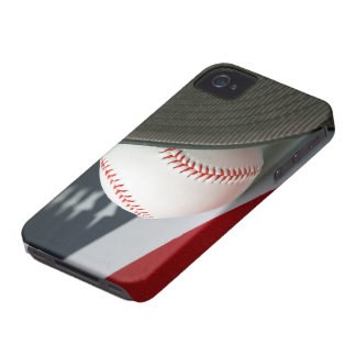 Baseball the USA iPhone 4 Covers