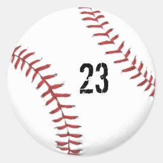 Baseball Theme sticker