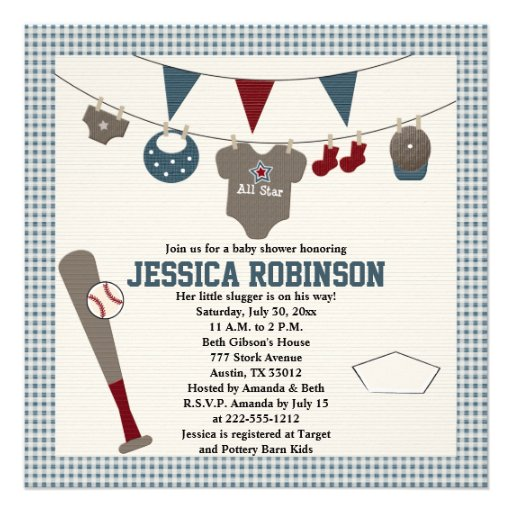 Baseball Themed Baby Shower Invitations correctly perfect ideas for your invitation layout