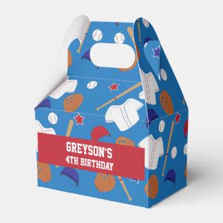 Baseball Themed Favor Box