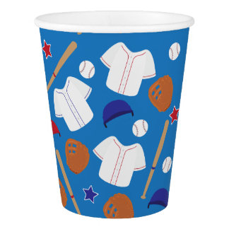 Baseball Themed Party Paper Cup