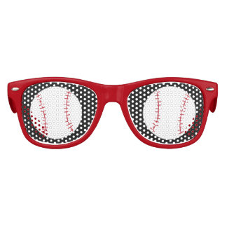 Baseball Themed Sunglasses- Party Favor Sunglasses