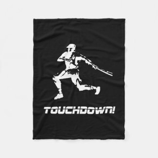 Baseball Touchdown Fleece Blanket