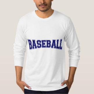 Baseball University Style Tee Shirt