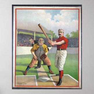 Baseball Vintage Sport  Print