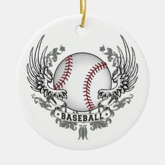 Baseball Wings Ornament