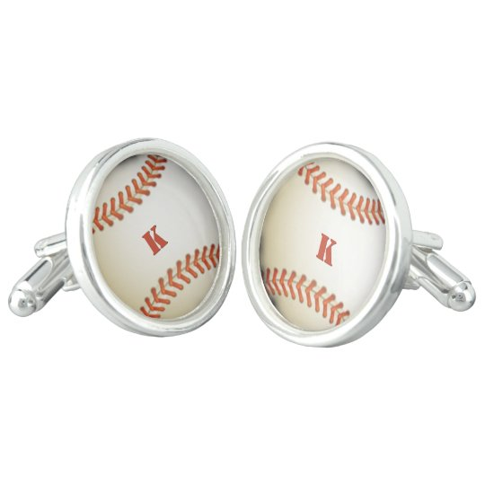 Baseball with (or without) Initial(s) Cufflinks