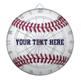 Baseball With Red Stitching Dartboard