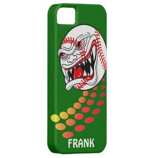 Baseball with Teeth - Customizable! iPhone 5 Cover