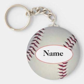Baseball with your nasty on it keychain