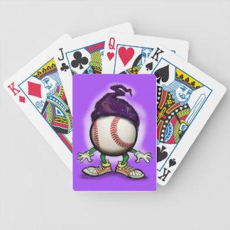 Baseball Wizard Poker Deck