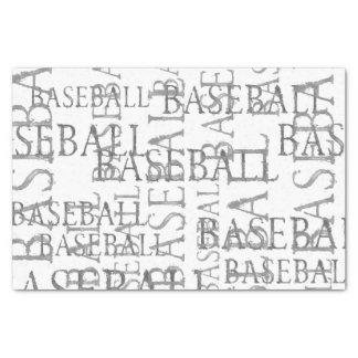 Baseball Word Art Pattern Tissue Paper