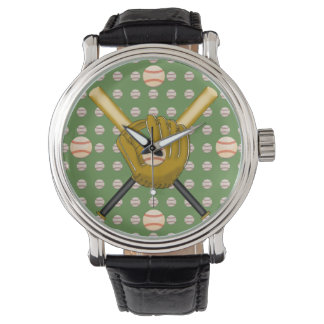 Baseball Wrist Watch