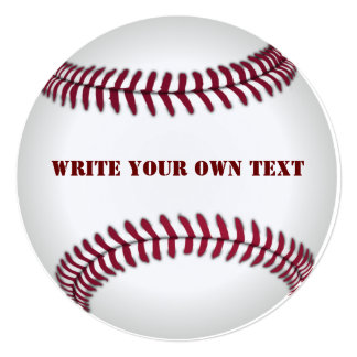 Baseball - Write Your Own Text Card