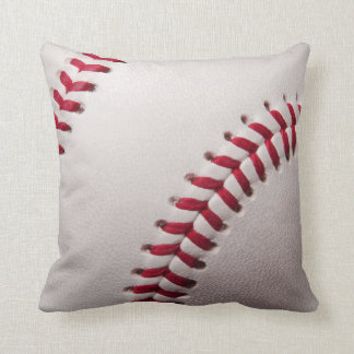 Baseballs - Customize Baseball Background Template Throw Pillow