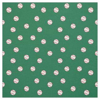 Baseballs Fabric