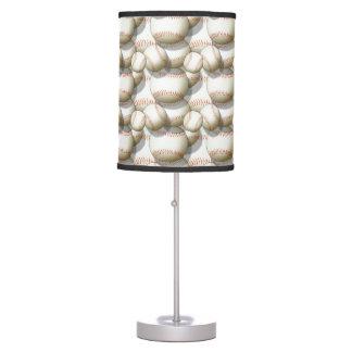 Baseballs Multiplied Novelty Table Lamp