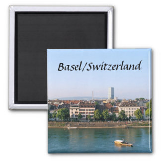 Basel/Switzerland - Souvenir Magnet