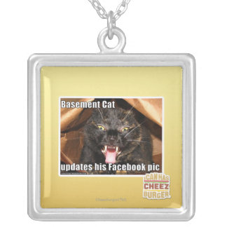 Basement Cat Pendant
