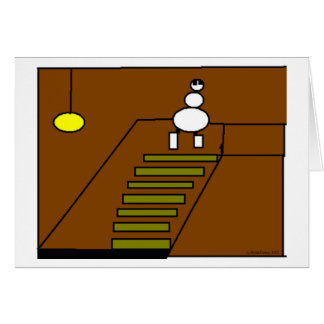 Basement Stairs Card