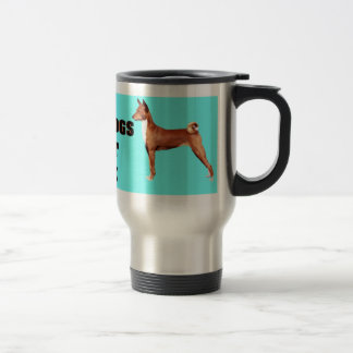 BASENJI BARK TRAVEL MUG